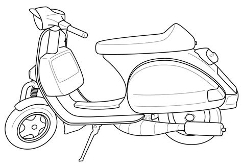 Scooter #18 (transportation)