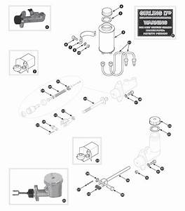 Brake Hydraulics - Tr3 From Ts13046  Tr3a To Tr4a