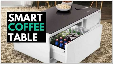 While you're browsing our trendy selection of light coffee tables, use our filter options to discover all the coffee tables colors, sizes, materials, styles, and more we have to offer. Coffee Table With Fridge Built In | Design innovation