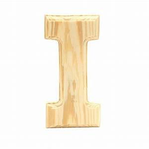 wood letters lerman decor inc With wooden letter i