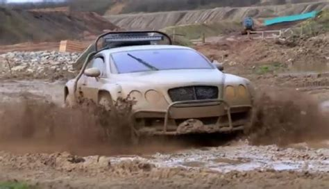 Modifikasi Bentley Continental by Sedan Mewah Bentley Continental Gt Offroad Ini