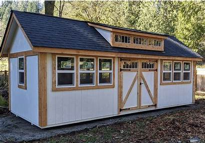 Portable Shed Heritage Buildings Wood