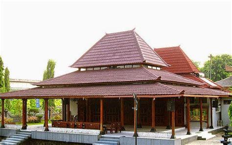 rumah adat madura gambar om