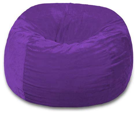 bean bag chair 5 ft chill sack contemporary bean bag
