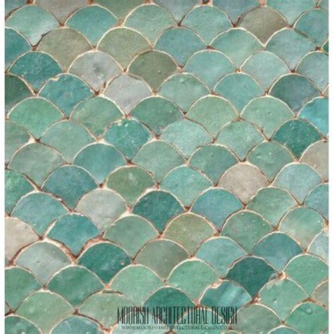 bathroom tile shower design moroccan fish scale tile pattern