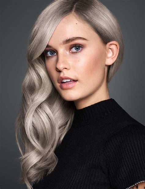 silver ash blonde hair redken