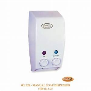 Manual Soap Dispenser  400ml X 2
