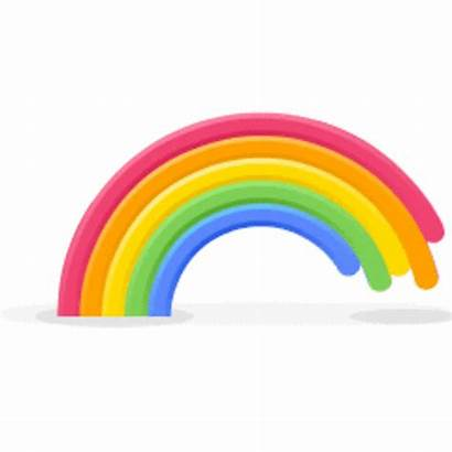 Skype Animated Emoticons Rainbow Giphy Bedtime Gifs