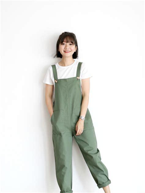 Cotton Overall Pants - JustLove Closet