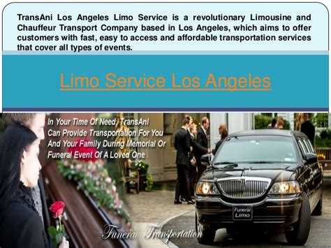 Limo Service Los Angeles by Limo Service Los Angeles