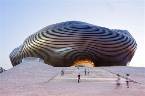 China  Ordos Museum By Mad Architects