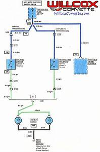 Wiring Diagram Safety  Backup Switch  - Corvetteforum