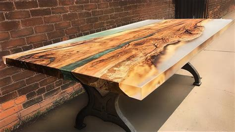 10 Amazing Epoxy Resin And Wooden River Table ! Awesome