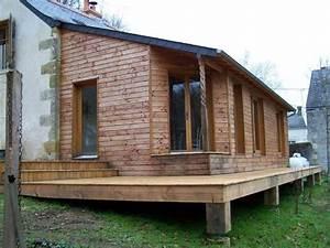 Extension Ossature Bois Prix Au M2 : extension bois sur pilotis en touraine le blog d 39 eddy fruchard ~ Melissatoandfro.com Idées de Décoration