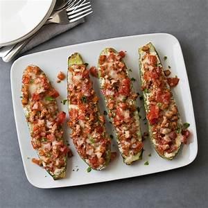 Lasagna-Stuffed Zucchini Recipe - EatingWell