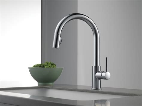 delta trinsic kitchen faucet trinsic kitchen collection kitchen faucets pot fillers
