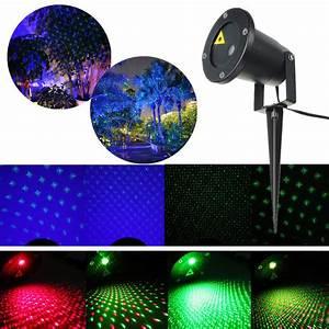 Laser Projektor Aussen : led laser party licht projector landschaft lichteffekt gartenleuchte au en deko ebay ~ Frokenaadalensverden.com Haus und Dekorationen