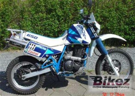 1990 Suzuki Dr650 by 1990 Suzuki Dr 650 R Dakar Rating