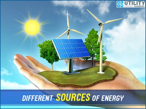 three forms of renewable energy different sources of energy utility contact numbers