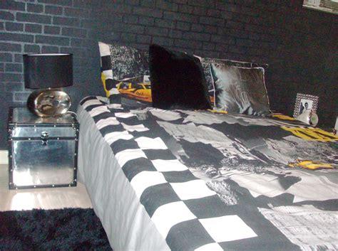 chambre gris noir deco york pour chambre chambre deco york fille