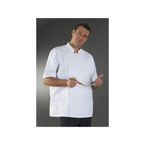 veste de cuisine manche courte veste cuisine manche courte homme blanche my tablier