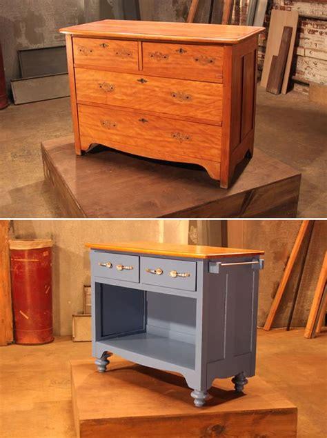 kitchen island bar table no compres más muebles 10 ideas para reciclar cosas que