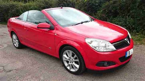 vauxhall red convertible red vauxhall astra twintop 1 9cdti with 3