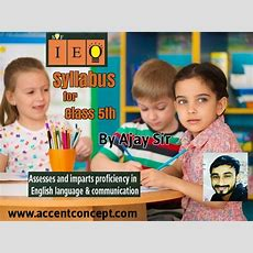Syllabus Of English (olympiad) Class 5thby Ajay Sir  Accent Institute Hisar