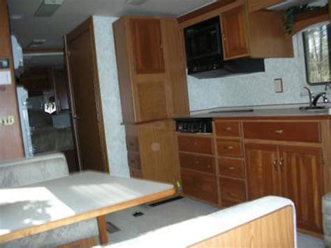 redoing bathroom ideas rv renovation on a winnebago chieftain interior