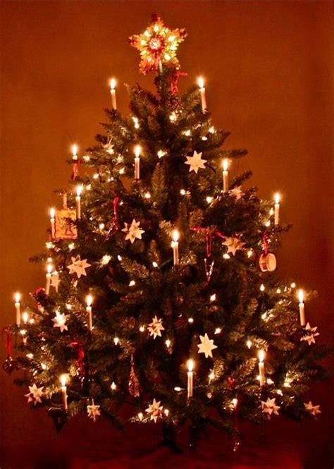 moravian star christmas tree days of yore pinterest