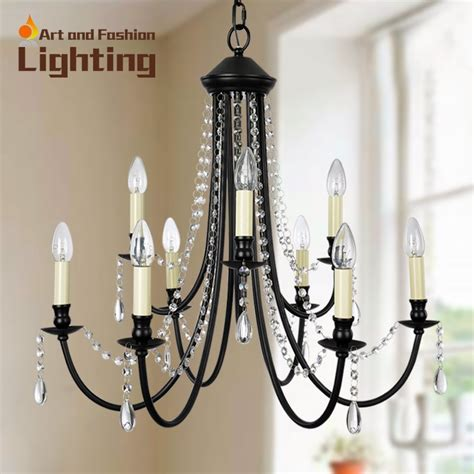 Black Wrought Iron And Chandelier by Vintage Black Wrought Iron And Chandeliers