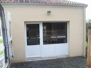 Menuiserie exterieure par abl for Remplacement d une porte de garage par une baie vitrée
