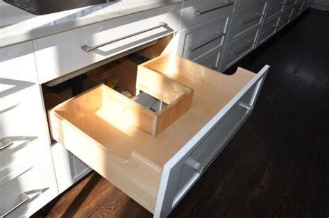 sink drawers kitchen sink drawer with cutout to make room for plumbing 6561