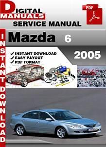 Mazda 6 2005 Factory Service Repair Manual