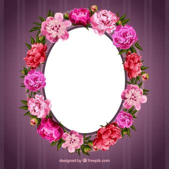 Flower Frame Vectors, Photos and PSD files