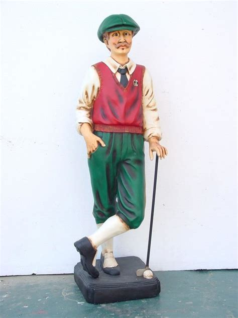Golfer Statue - 3.5FT - Home Decor - dallas - by The