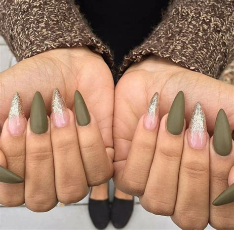 matte olive green nail polish nail helper