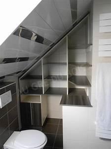 salles de bains au gre du bois With salle de bain mansardee photos