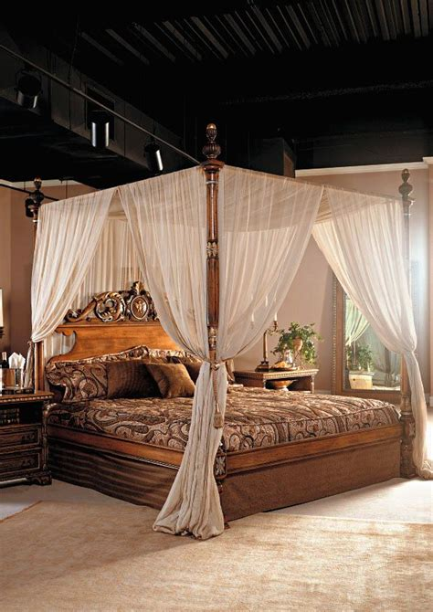 Italian & French Country Collection  Canopy Bed  Canopy