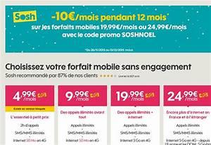 Passer Le Code Sur Internet : bon plan sur les forfaits mobiles sosh avec 10 euros de r duction ~ Medecine-chirurgie-esthetiques.com Avis de Voitures