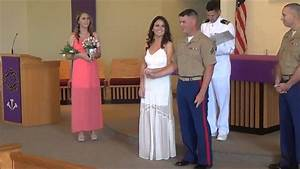 cheap wedding videographer in san diego ceremony at camp With affordable wedding videographer