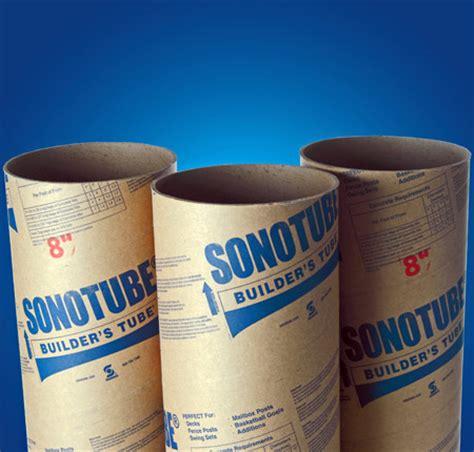 round concrete form tubes builders tube 174 sonotube