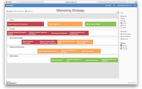 marketing program marketing strategy template