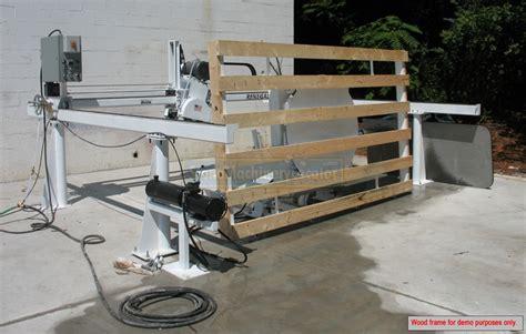 2017 rye corp renegade bridge saw w hydr tilt table