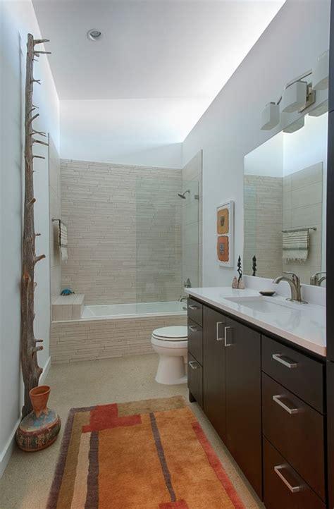 kleine baeder mit badewanne und dusche einrichten  ideen