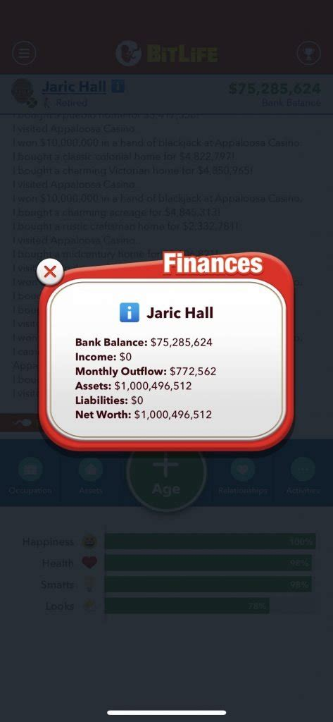 lottery bitlife win rich getting characters outside