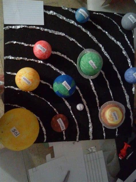 maqueta sistema solar solar sistem