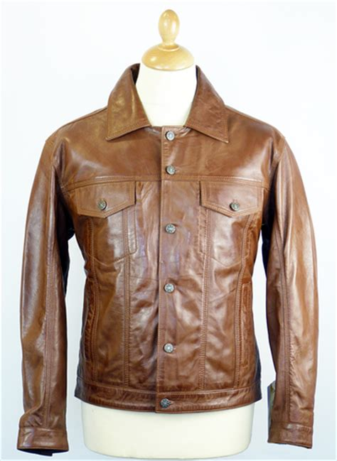 madcap england wyatt retro  indie leather flight jacket
