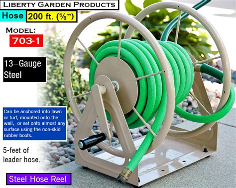 liberty garden products what s the best hose reel ultimate water hose reel buying