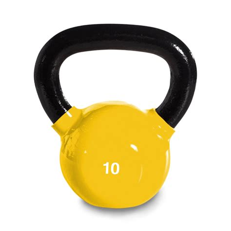 weight yellow kettlebell pound